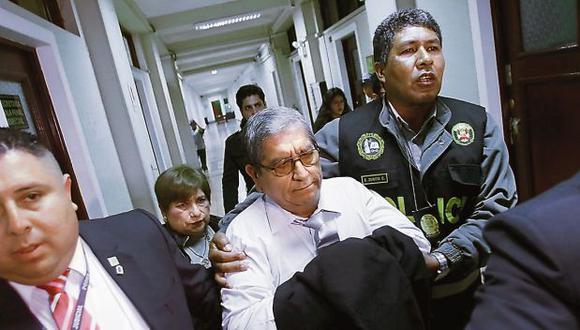 Julio Gutiérrez Pebe cumple 18 meses de prisión preventiva desde octubre del 2018. (Foto: Miguel Bellido/ GEC)
