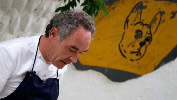 Ferran Adrià. (Foto: Difusión)