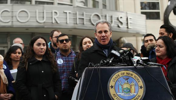 El fiscal general de Nueva York, Eric Schneiderman busca proteger DACA del intento de cancelación de parte de Donald Trump. (Foto: AFP)