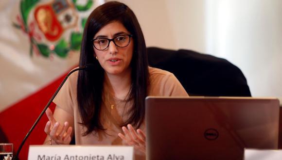 María Antonieta Alva. (Foto: EFE)