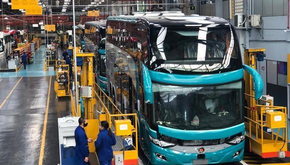 Civa traerá al país una flota de 35 nuevos buses para movilizar al personal de la minera Chinalco. (Foto: Civa)
