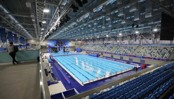 El Centro Acuático de la Videna, que fue uno de los escenarios de los Juegos Panamericanos 2019. (Foto: Reuters)