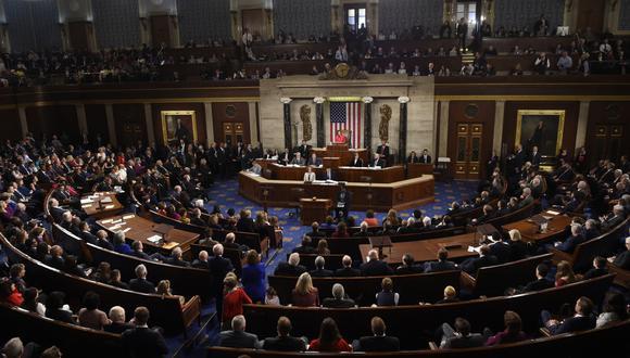 El caso es uno de varios que se abren paso en las cortes y en los que Trump enfrenta al Congreso sobre sus registros financieros. (Foto: AFP)