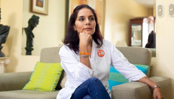 Patricia Juárez criticó que el encuentro que tuvo Castillo con Maduro en México. (Foto: archivo GEC)