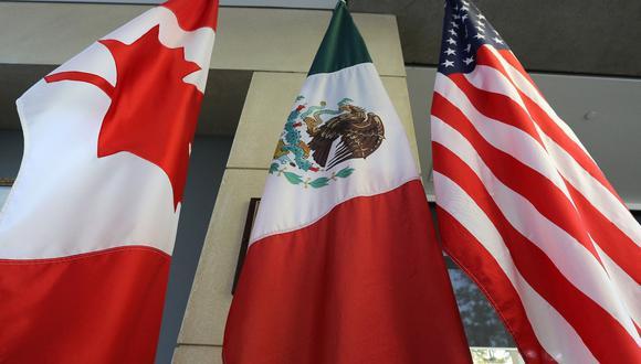 México, junto con Canadá, ha estado considerando presentar una queja formal contra EE.UU. bajo el T-MEC, lo que podría resultar en un panel de disputas para escuchar los argumentos de las naciones, según personas familiarizadas con el asunto. (Foto: AFP)