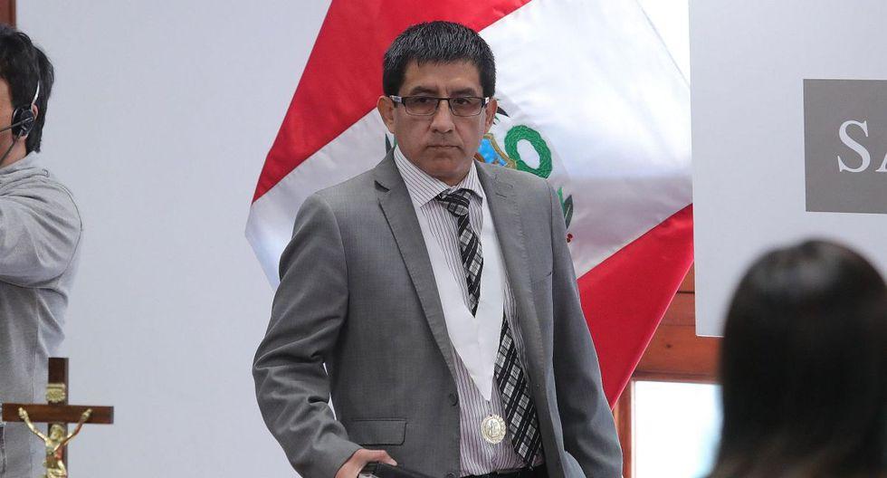 El juez Concepción Carhuancho suspendió la audiencia hasta el 28 de octubre a las 9 a.m. (Foto: EFE)