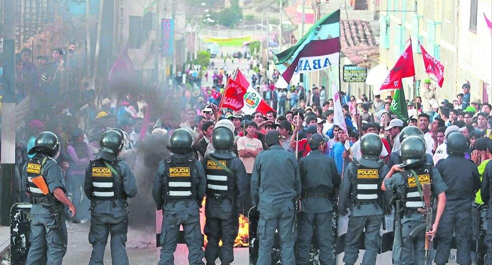 Hay un 40% que considera improbable un escenario de protestas. (Foto: GEC)