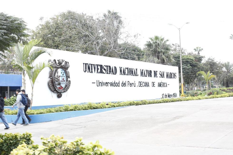 1.La Universidad Nacional mayor de San Marcos lidera la lista. (Foto: Difusión)