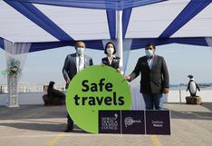 Hay más 300 atractivos turísticos con el sello Safe Travel en Perú
