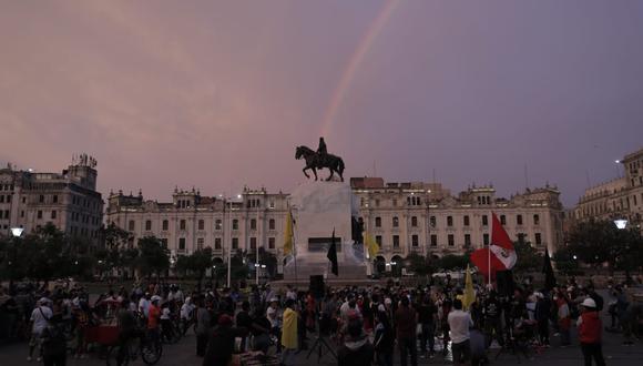 La plaza San Martín ha sido sede de diversas manifestaciones ciudadanas. (Foto: GEC)