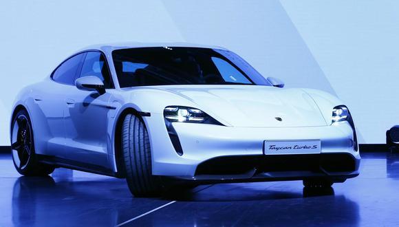 Porsche eléctrico Taycan. (Foto: Difusión)