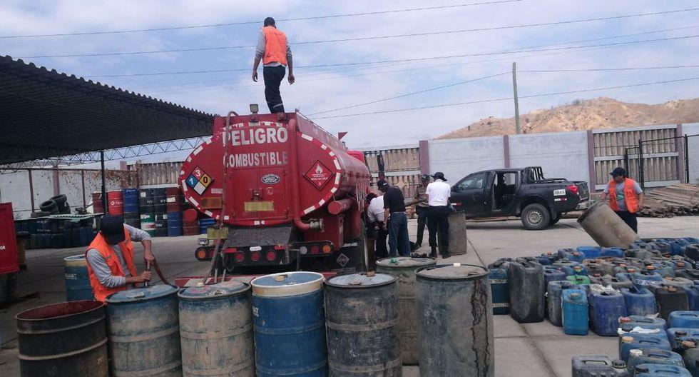 La intervención se realizó en la provincia de Zarumilla como parte de las acciones de rutina que realizan los agentes aduaneros a los vehículos. (Foto: Difusión)
