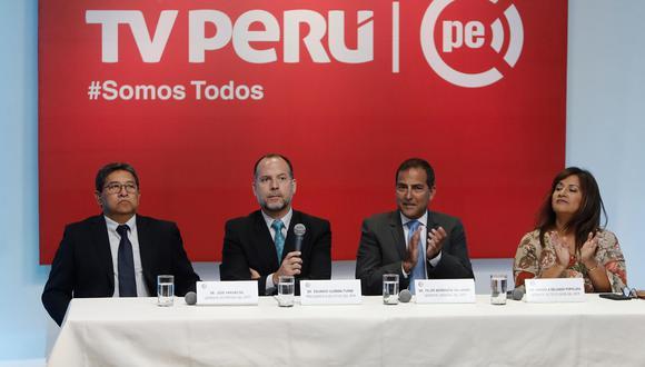 Eduardo Guzmán renunció a la presidencia del Instituto Nacional de Radio y Televisión del Perú - IRTP. (Foto: Renzo Salazar/GEC)