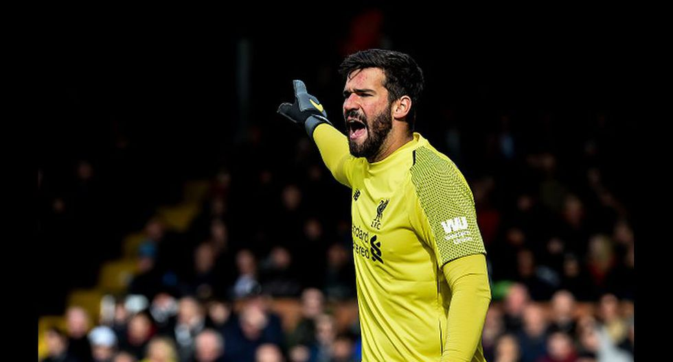25. Alisson (Liverpool). (Foto: Getty Images)