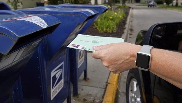 Para las elecciones presidenciales en Estados Unidos se han solicitado miles de boletas para el voto por correo, por temor a la pandemia de coronavirus. (Foto referencial: AP)