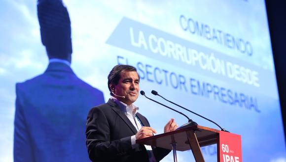 Oscar Caipo, presidente de Confiep. (Foto: GEC)