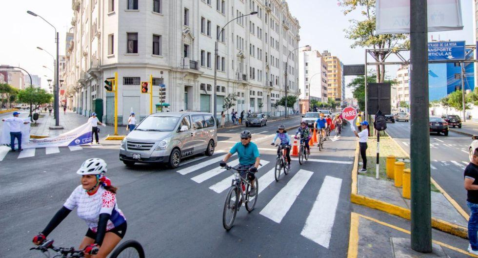 La inversión para la construcción de las nuevas ciclovías ascienden a 102 millones de soles. (Andina)
