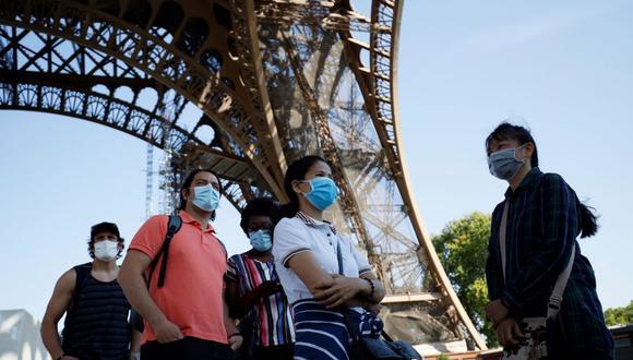 Imagen de la Torre Eiffel del 25 de junio del 2020. (Foto: Thomas SAMSON / AFP).