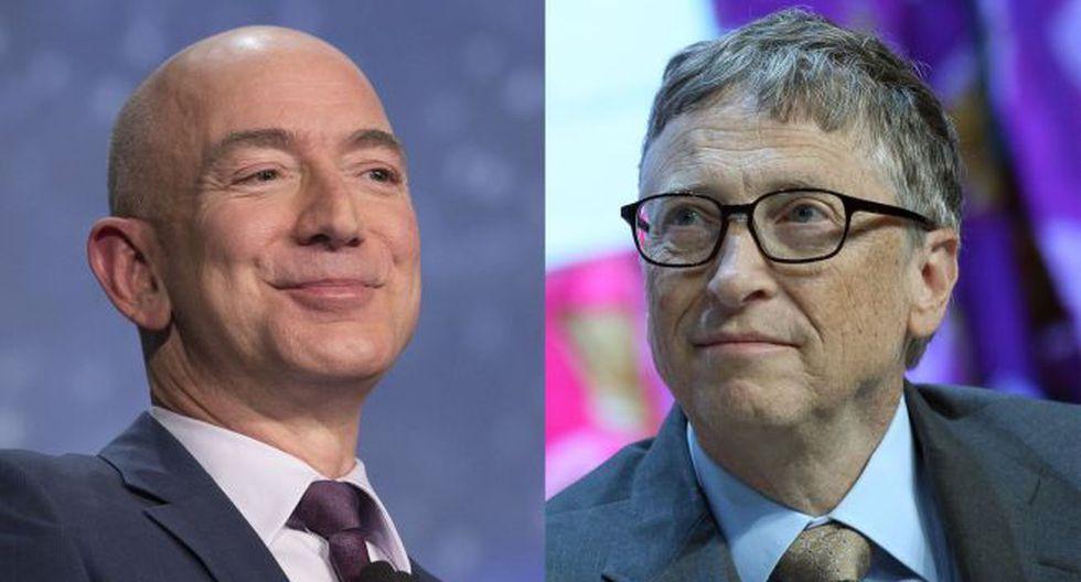 Bill Gates y Jeff Bezos.