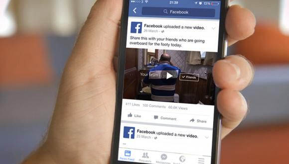 Facebook es considerado por los encuestados como una plataforma de alto riesgo. (Foto: Reuters)