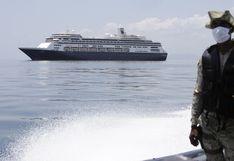 Sector de cruceros de EE.UU. aun lidia con contagios y no podrá tener ayuda