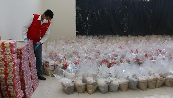 Contraloría detectó a más de 4 mil funcionarios y servidores públicos beneficiados con canastas de víveres. (Foto: Contraloría)
