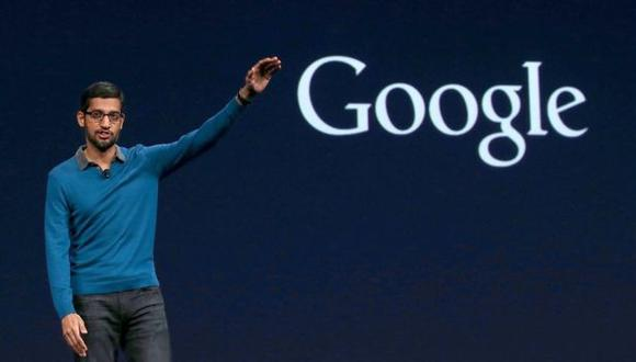 Sundar Pichai, CEO de Google. (Foto: Getty Images)