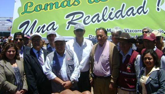El presidente Martín Vizcarra habría recibido sobornos del consorcio Obrainsa-Astaldi por la obra Lomas de Ilo. (Foto: GEC)