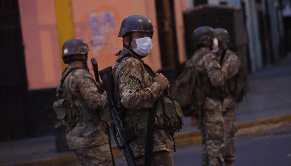 """Presidente Pedro Castillo dijo que aquellas personas jóvenes """"que no estudian ni trabajan"""", deberán participar del servicio militar. (Foto: César Grados/GEC)"""