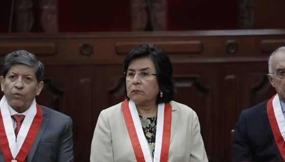 """Marianella Ledesma también pidió respetar el fallo del TC sobre las corridas de toros y peleas de gallos """"por más que no nos guste"""". (Foto: GEC)"""