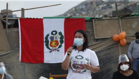 Keiko Fujimori no descartó que de llegar al Gobierno impulsará una política nacional de austeridad. (Foto: Hugo Perez / @photo.gec)