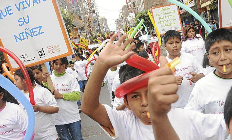 "Perú lanza sello para certificar a empresas ""libres de trabajo infantil"""