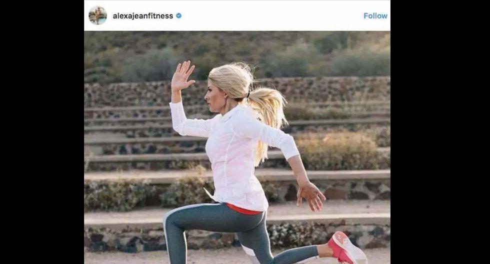 Foto 20    20. Alexa Jean Brown – 1,9 millones. Alexa Jean Brown es una madre de dos niños y entusiasta de la actividad física que tiene como objetivo ayudar a motivar a las mujeres a hacer ejercicio aun teniendo unas vidas súper ocupadas. (Foto: Instagram)