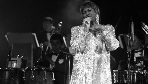 """""""Su larga e histórica carrera sirve de inspiración infinita para los aspirantes a músicos y, a través de la Fundación Celia Cruz, su legado continúa brindando becas para jóvenes estudiantes latinos"""", indica además el mensaje. (Foto: Difusión)"""