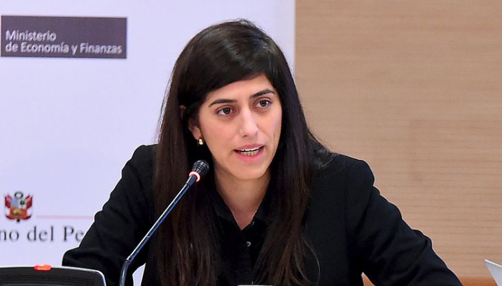 María Antonieta Alva, ministra de Economía.