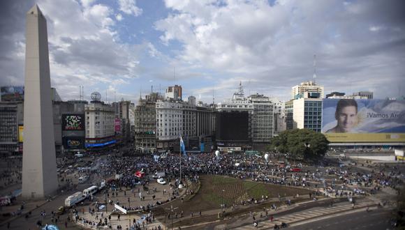 Argentina. (Foto: AP)