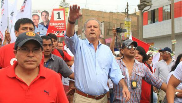 El exdiputado fue el candidato presidencial de Acción Popular en los comicios del 2016 y quedó en cuarto lugar. (Foto: GEC).
