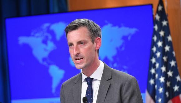"""El portavoz del Departamento de Estado, Ned Price, afirmó que """"Estados Unidos espera continuar esta importante alianza con el candidato debidamente elegido por el pueblo peruano""""."""