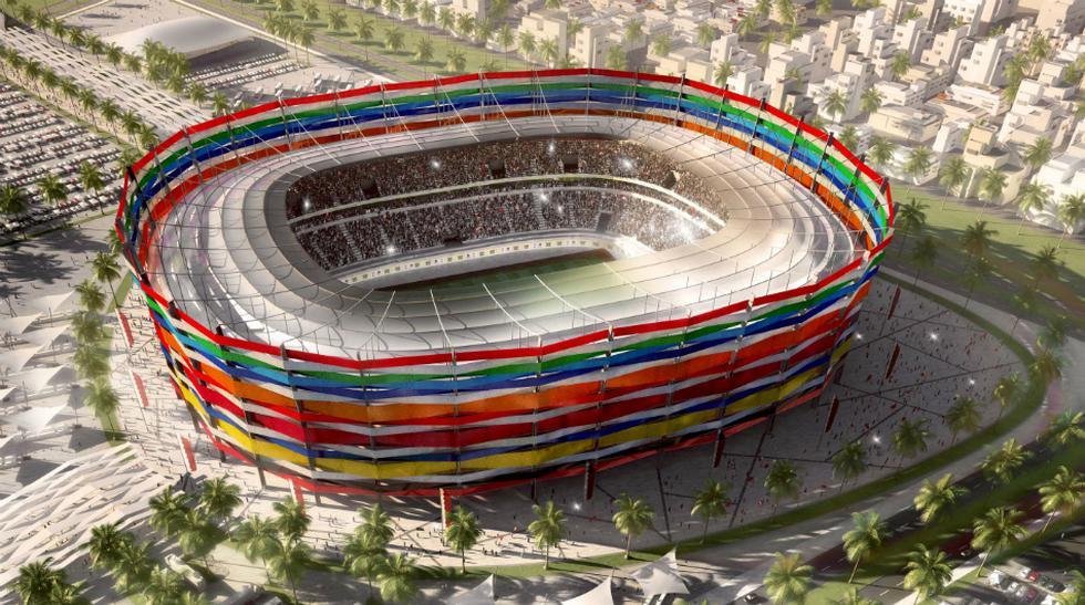 Estadio Al-Gharafa. Ubicado en la ciudad de Al-Rayyan, esta plaza está destinada a los partidos de fase de grupos del Mundial.
