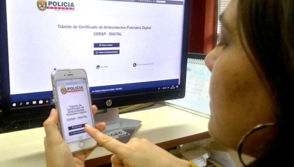 Para solicitar el certificado de antecedentes policiales deberás contar con tu DNI vigente. (Foto: Andina)