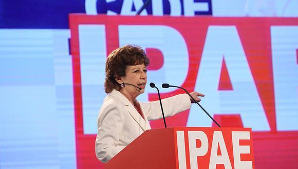 La economista Liliana Rojas-Suárez se encargo de mostrar cómo se ve al Perú en el exterior. (Foto: CADE 2017).