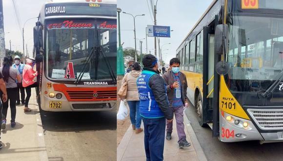 Las empresas de transporte público operarán los domingos. (Foto: ATU).