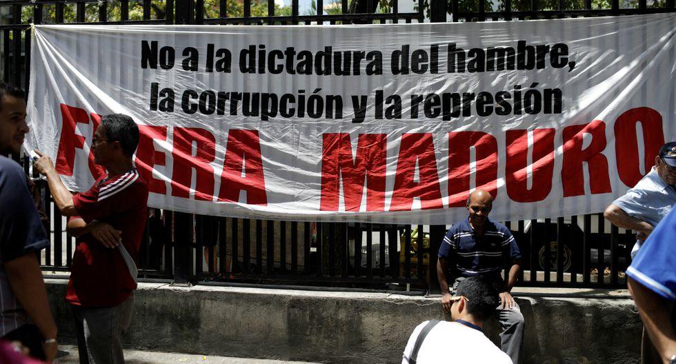 Opositores al régimen de Maduro protestan en Caracas. (Foto: Reuters)