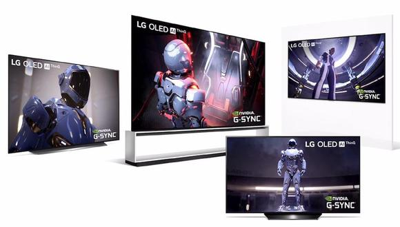 Televisor OLED48CX de LG.