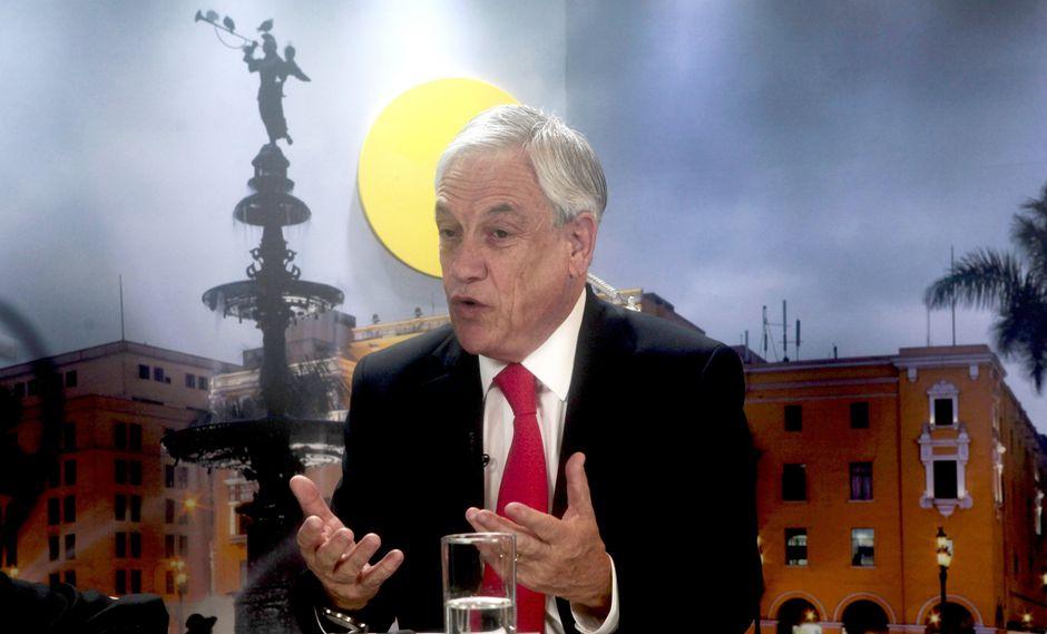Sebastián Piñera, presidente de Chile. (Foto: GEC)
