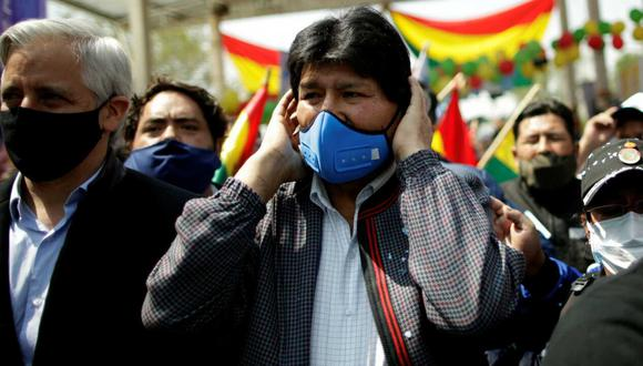 Morales encabezará una caravana que recorrerá 1,100 km desde la ciudad de Villazón (sur) hasta la zona cocalera de Cochabamba, donde forjó su carrera política. (Foto: REUTERS / UESLEI MARCELINO)