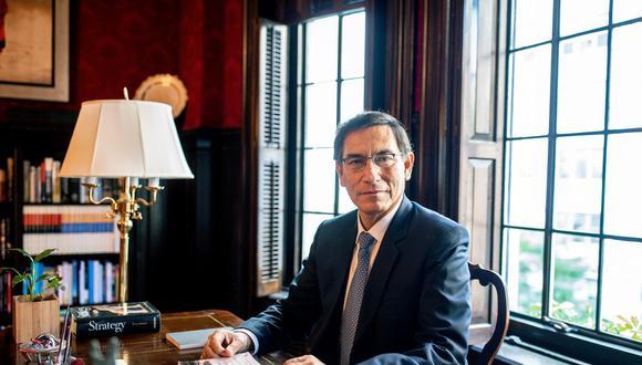 Martín Vizcarra. (Foto: Bloomberg)
