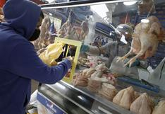 Se desacelera alza del precio del pollo y el de las carnes se mantiene estable