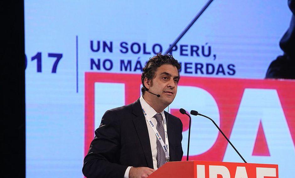 Ivo Gagliuffi participó en una de las conferencias de la CADE 2017 en Paracas. (Foto: CADE 2017)