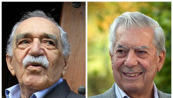 Mario Vargas Llosa y Gabriel García Márquez. (Foto: Difusión)